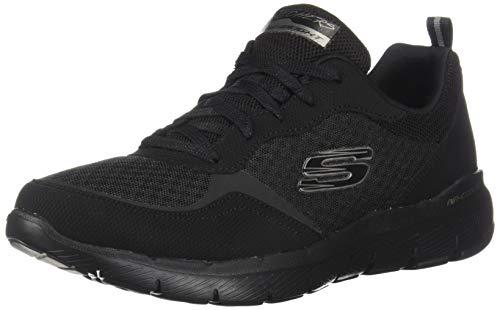 Skechers Women's Flex Appeal 3.0-GO Forward Sneaker, BBK, 8 M US