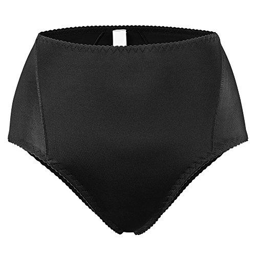 Eldar alta cintura faja panty en diferentes colores Black - Black