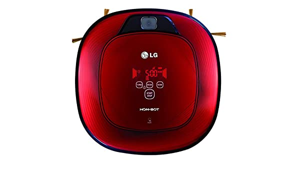 LG Hom-Bot - Robot aspirador, color rojo: Amazon.es: Hogar