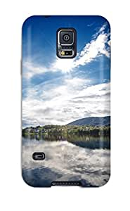 DIpVcUw2119zgXjh Tpu Phone Case With Fashionable Look For Galaxy S5 - Sunny Lake