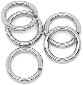 Amazon.com: Valyria 500 anillos conectores de acero ...
