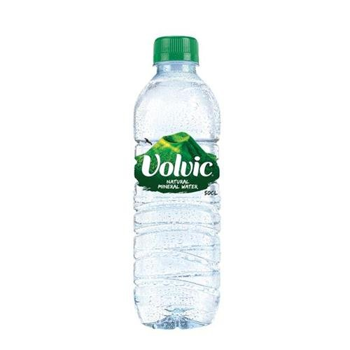 Volvic Go Natural Mineral Water Bottle Plastic With