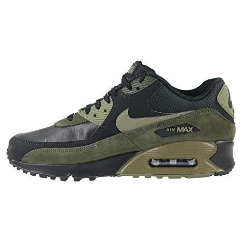 medium Chaussures Running Olive Compétition De Leather sequoia 90 Homme Nike Max black Multicolore 014 Air nWqY7IP