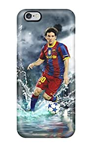 Earurns Scratch-free Phone Case For Iphone 6 Plus- Retail Packaging - Lionel Messi Poster