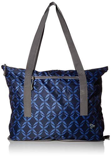 41uptAq6fML - Travelon Folding Packable Tote Sling, Rope Weave, One Size