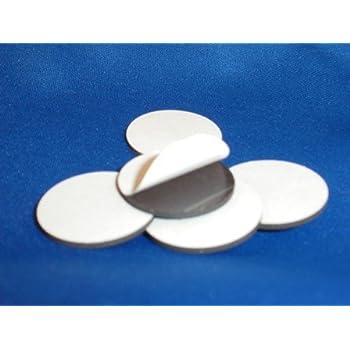 Amazon Com 10 Peel And Stick 1 Quot Adhesive Magnetic Circle