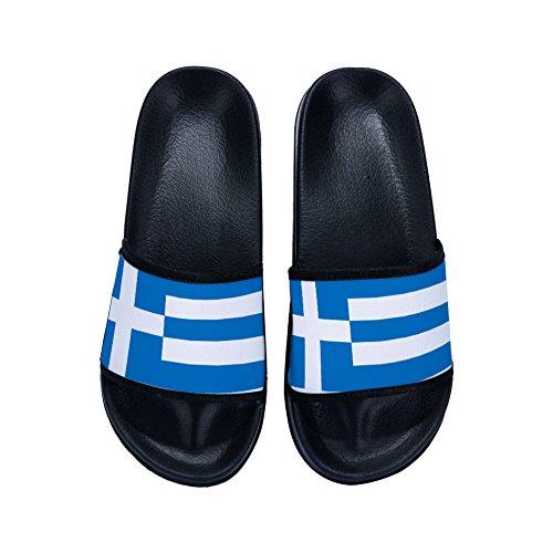DREA Unisex-child Home Sandal Boys Girl Slipper Indoor Shower Flats Flip Flops Open toed -
