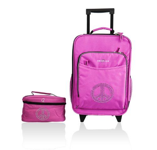 obersee-kids-luggage-and-toiletry-bag-set-bling-rhinestone-peace