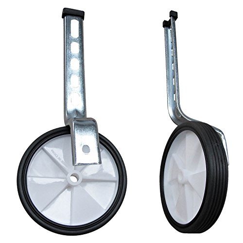 Positz Universal Safety Training Balance Wheels, Adjustable for 12 inch - 20 inch Kids/Children's Bicycles by Positz