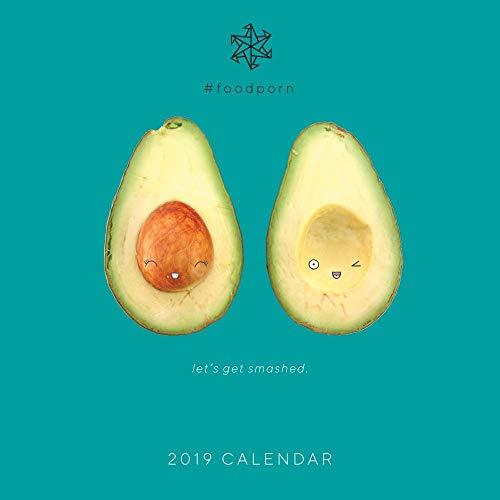 2019 Foodporn Wall Calendar, Food Art by Portico Designs (Calendar Food)