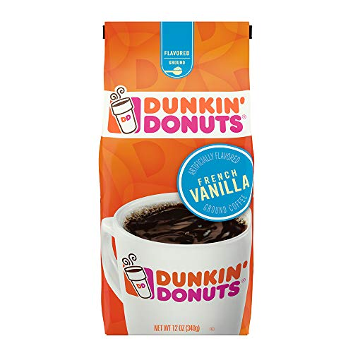 (Dunkin' Donuts French Vanilla Flavored Coffee, 12 Ounce)