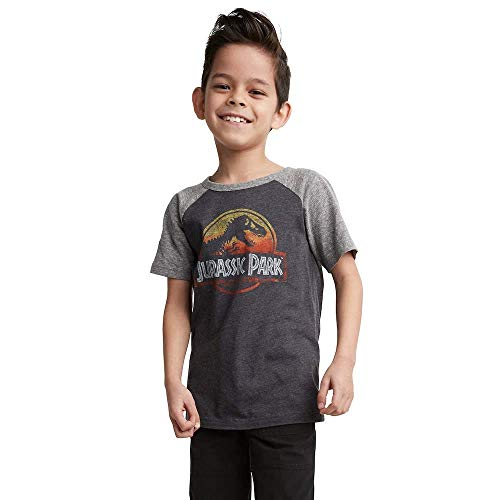 Jumping Beans Boys 4-10 Jurassic Park Graphic Tee5 Charcoal Heather
