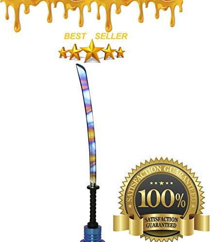 Tool Kit - Phenomenal Multi Colored & Precise Multi Purpose Edges Sword GR2 Long Slim Sword Type Tool Steel Jewelry Wax Carvers Natural Mystic USA Brand ()