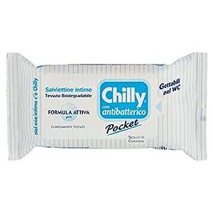 Chilly - Paquete de 12 toallitas chilly protec (1 unidad): Amazon.es: Belleza