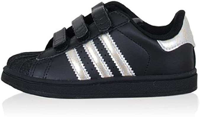 Talla Portal espía  adidas Originals - Fashion/Mode - Superstar 2 Scratch Bébé - Taille 24 -  Noir: Amazon.fr: Chaussures et Sacs