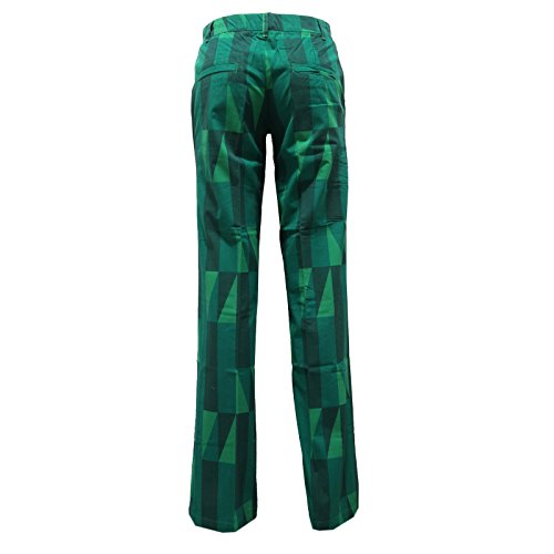 Woman Custo Donna Verde Trouser Barcelona 8433u Pantalone Pant qHaffY