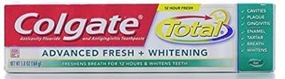 Colgate Total Advanced Toothpaste, Fresh + Whitening Gel 5.80 oz