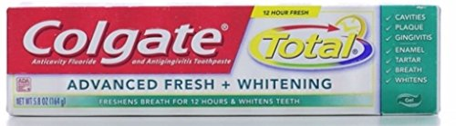 Total Advanced Fresh Toothpaste (Colgate Tot Adv Fresh Gel Size 5.8z Colgate Total Advanced Fresh Gel Toothpaste 5.8 Ounce)