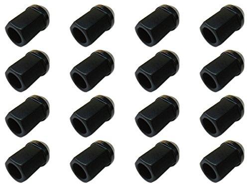 【16個入】【ホイールナット】19H34mm貫通黒M12×P1.5【アルミ製】【トヨタホンダ三菱ダイハツマツダいすず適合】 B00D5N5SZ6