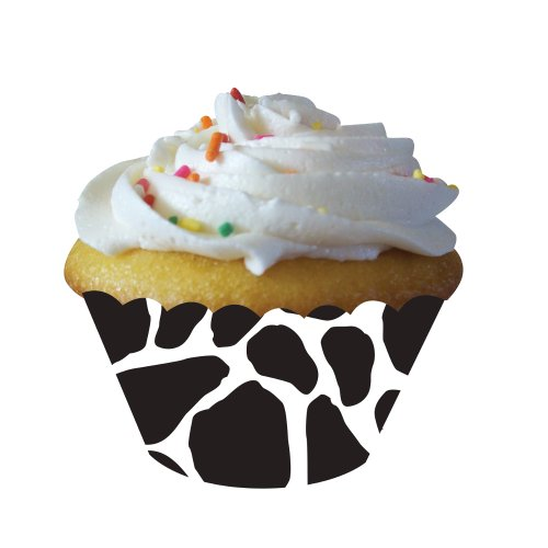 Creative Converting Print Cupcake Wrappers