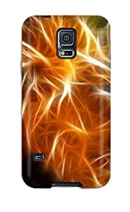 Galaxy S5 Case Bumper Tpu Skin Cover For Fractals Of Various Animals Accessories by icecream design