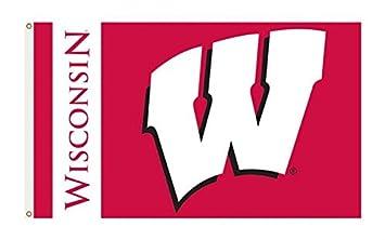 Amazoncom Wisconsin Badgers College Sports Fan Premium Team Logo
