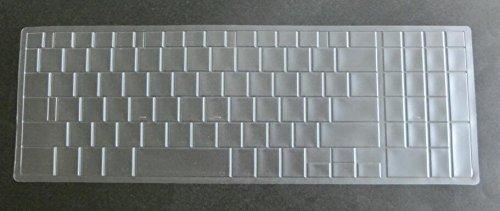 BingoBuy TPU US Layout Clear Transparent Non-toxic Ultra Thin Keyboard Protector Cover Skin for Toshiba Satellite C50-B C50D-B C50T-B C55-B C55T-B C55D-B series