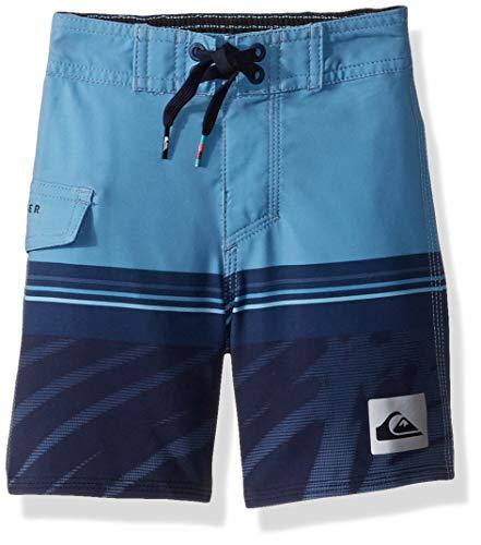 Quiksilver Little Highline Zen Division BOY Boardshorts Swim Trunk, Medieval Blue, 6