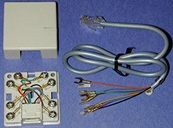 TANE ALARM TJ-8 RJ 31X Block and Cord