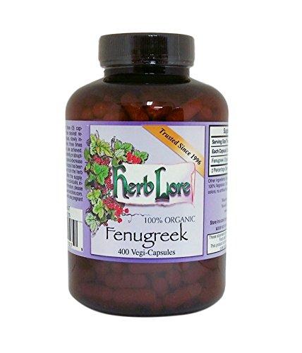 Herb Lore Organic Fenugreek Capsules product image