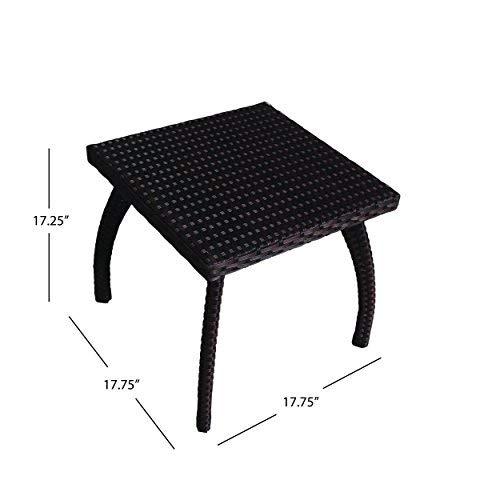 Great Deal Furniture Woodridge Outdoor Wicker Table