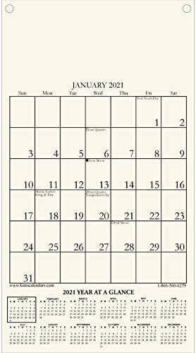 "Amazon.com: 2021 Kim's Calendars""Small"" Calendar Refill ..."