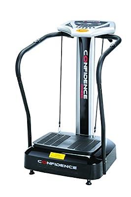 Confidence Fitness Slim Full Body Vibration Platform Fitness Machine, Black by Golf Outlets of America, Inc.
