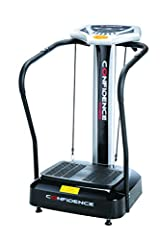 The latest design from Confidence Fitness is the new Vibration Plate. This compact machine is the answer to low impact, easy exercise with fast results in your own home. With a user friendly display console and simple to navigate menu, will m...
