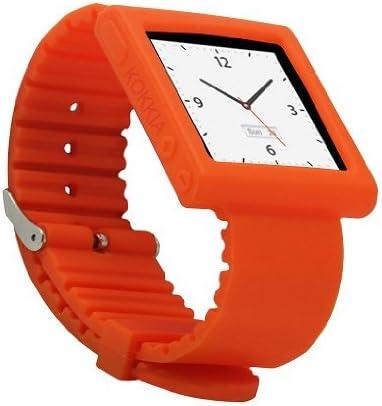 Kokkia I10swatch Correa Tangerine Tango Correa Para El Reloj Para Ipod Nano 6g E I10s I10 Ipod Y I10s No Incluidos Home Audio Theater