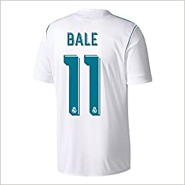 ... Amazon.com Real Madrid Home 11 Gareth Bale Soccer Jersey 2017-2018 Mens  Color ... fad4ee3f2