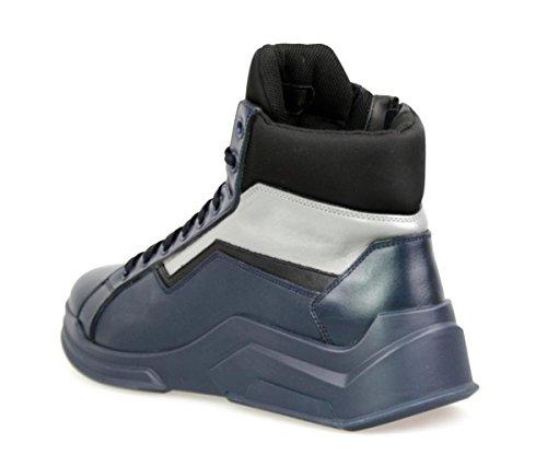 Prada Menns 4t2802 Bsy F0jqk Skinn Sneaker