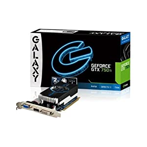 GALAXY GF PGTX750TI-OC-LP/2GD5 GeForce GTX 750Ti搭載グラフィックスボード