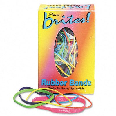 Brites Pic Pac Rubber Bands, 1-1/2-Oz Box [Set of 4] -