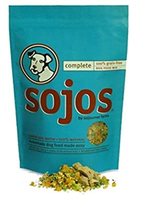 Sojos Complete Raw Natural Dry Dog Food Mix