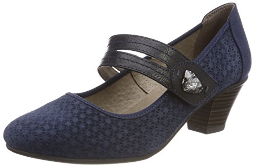 Jana Damen 24331 Pumps Blau (Navy)