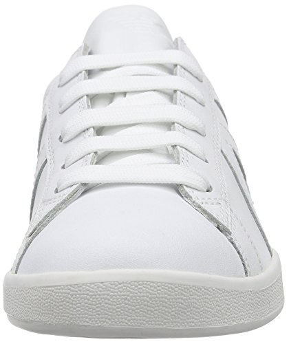 Armani Jeans Mens Lace-up Fashion Sneakers 06565yo Blanc