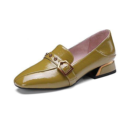 appuntito Classico CJC Moda signore del piede donna da leggero Tribunale Scarpe stiletti B Dito superficiale wAqI4EU