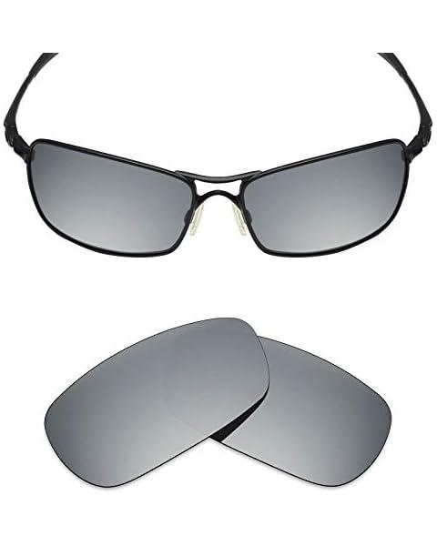 b48709aec70 Mryok Polarized Replacement Lenses for Oakley Crosshair 2.0 - Silver  Titanium