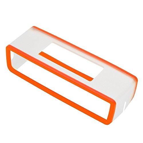 Eprosperous High Quality Soft Silicone TPU Case Cover Skin For Bose Soundlink Mini 1 2 Bluetooth Speaker - Orange