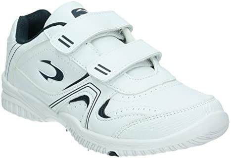 JOHN SMITH Zapatilla Deporte NIÑO Blanca Velcro CUNER - 25: Amazon ...