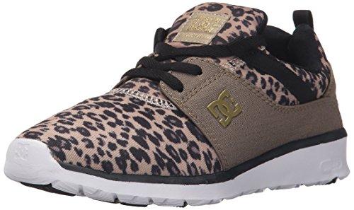 Dc Womens Heathrow Se Skate Shoe Stampa Leopardo