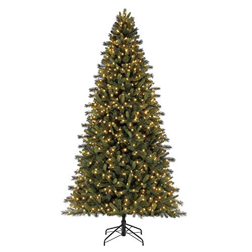 Evergreen classics 9' PRE-LIT Norway Spruce Artificial Christmas Tree -  Polygroup, TG90P5509L00
