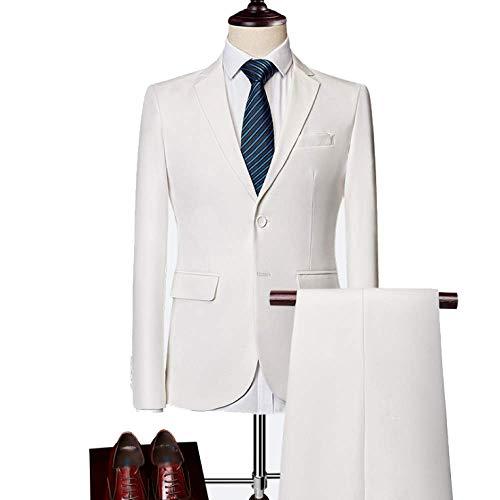 Xdljl Robe Parties D'affaires De Costume white Banquet Décontracté Homme Deux 4xl Option Multicolore En Mariée off gwIrqUw