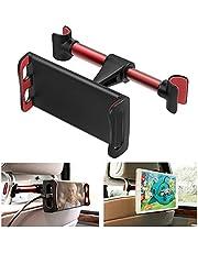 Tablet hoofdsteunhouder auto, hoofdsteun houder tablethouder, 360 graden rotatie, universeel voor 4-11 inch tablets en smartphones